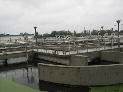 Sewage treatment project