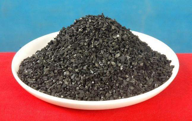 Decolorization of activated carbon