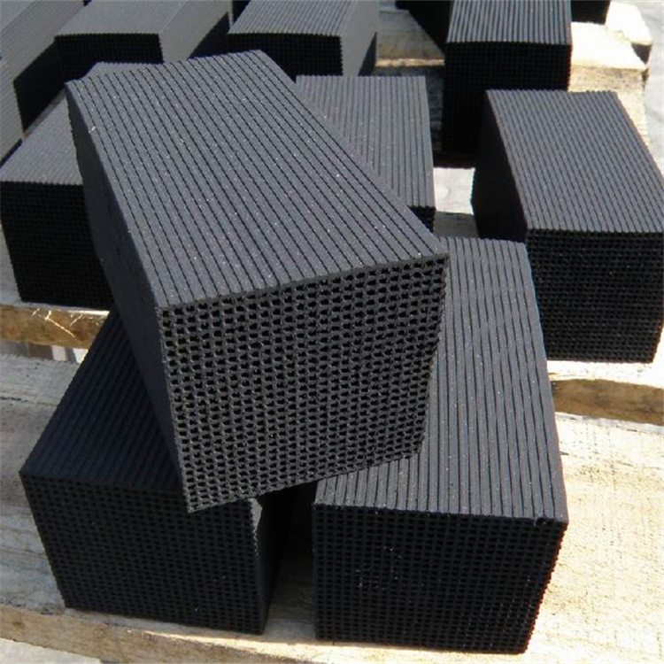 Function of honeycomb activated carbon in waste gas treatment