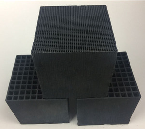 Honeycomb activated carbon
